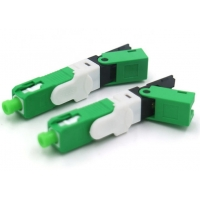 Buy cheap ANATEL Certificated Click Tipo Optic Fiber Fast Connector for Fiber to the Home(FTTh) product