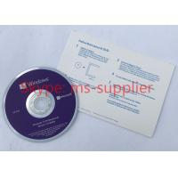 Buy cheap Microsoft Win 10 Pro OEM French Langauge 64 Bit DVD with Product OEM Key Card Activation Online product