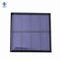 Buy cheap 0.8W Lightweight Silicon Solar PV Module ZW-6565 High Efficiency solar panel polycrystallin 5V product