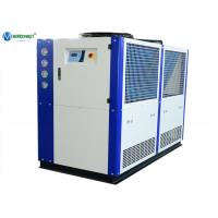 Buy cheap CE Standard 40HP Plastic PVC Extruding Industrial Air Cooled Water Chiller from wholesalers