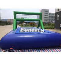 0.9MM PVC Tarpaulin Inflatable Sport Games Water Volleyball Court / Water Bossball