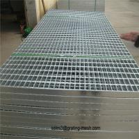 Buy cheap steel grating standard size from wholesalers