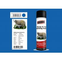 Buy cheap Great Adhesiveness Animal Marking Paint 0.5L With Blue Color APK-6821-9 product