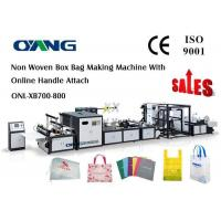 Buy cheap Soft Non Woven Cloth Carry Bag Making Machine from wholesalers