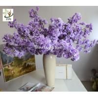 Buy cheap UVG CHR130 artificial crape myrtle flowers decorative tree branches for party decoration from wholesalers