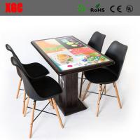 Buy cheap The interactive dining table for malls, and airports - offers customers a state-of-the-art ordering system, entertainmen from wholesalers