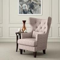 Buy cheap Astaire French Style Accent  Arm Chair Reading Room With Curved Back product