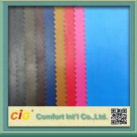Buy cheap 0.4mm Colorful PU Synthetic Leather / Artificial Leather Fabric For Bag product