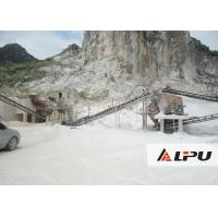 Custom 300 - 400 TPH stone crushing machinery for Sand Making