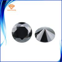 Buy cheap Cheapeast factory price black moissanite diamond synthetic industrial moissanite loose untreated from wholesalers