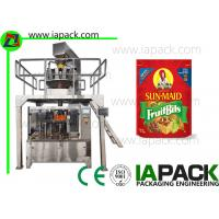 Buy cheap Potato Chips Packing Machine Stand Up Pouch Zipper Filler Sealer product