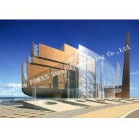 Buy cheap Aluminum Framed Double Layer Glass Curtain Wall for Heat Insulation Steel Structure Building System product
