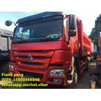 Buy cheap No Oil Leak Second Hand Dumper Truck , Sinotruk Dump Truck Hydraulic Systems product