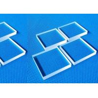 Buy cheap Transparent Borosilicate Pyrex Glass Light Guide Sheet 3mm Thickness product
