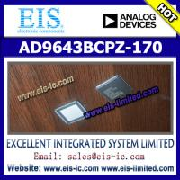 China AD9643BCPZ-170 - AD (Analog Devices) - 14-Bit, 170 MSPS/210 MSPS/250 MSPS, 1.8 V Dual Analog-to-Digital Converter (ADC) on sale