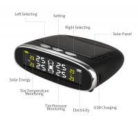 Buy cheap Solar Power Car TPMS Tire Pressure Monitoring System With Solar USB charging Monitor product