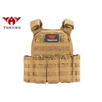 Buy cheap Molle Safety Lightweight Tactical Gear Vest / Military Combat Training Bullet from wholesalers