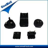 Buy cheap cenwell 12v 1a universal travel adapter with usb charger product