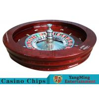 "Buy cheap Luxury Casino Gaming Standard Solid Wood 32"" Roulette Wheel Dedicated For from wholesalers"