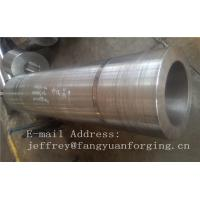 DIN 17CrNiMo6 ,18CrNiMo7-6 Anealing Forged Sleeves / Hollow Shaft Heat Treatment