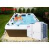 Buy cheap Meeting 7-56kw air source jacuzzi spa pool heat pump,swimming pool heat pump from wholesalers