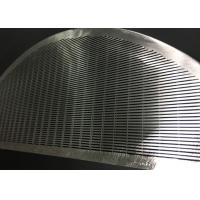 Buy cheap Stainless Steel Wedge Wire Screen Filter Element For Filtration / Separation In Juice Production product