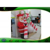 Buy cheap Advertising Outdoor Inflatable Holiday Decorations Christmas Inflatable Santa Arch product