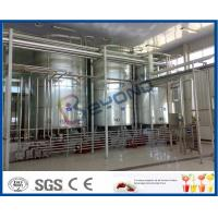 Buy cheap Full Auto Milk Manufacturing Plant , Yoghurt Processing Line Yogurt Making from wholesalers