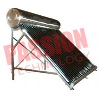Buy cheap 200L Economical Vacuum Tube Solar Water Heater System Compact Structure product