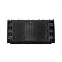 Buy cheap 48F In-line Type Fiber Optical Splice Closure Dust-proof and Waterproof IP65 Horizontal Splice Joint Plastic Enclosure product