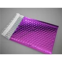 Buy cheap Multi Colored Purple Metallic Bubble Mailers 220x275 #B5-3 For Transport product