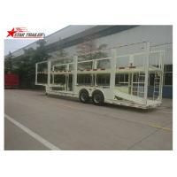 Buy cheap 4-8 Vehicle Hydraulic Car Carrier Trailer Heavy Duty And Extra Durability from wholesalers
