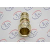 Buy cheap ø14*34 Mm Copper CNC Turned Parts Unthreaded Male Union Nipple​ For Sanitary Ware from wholesalers