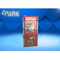 Buy cheap Singapore Crazy Scissors Cut Prize Game Machine , Mini Toy Claw Machine from wholesalers