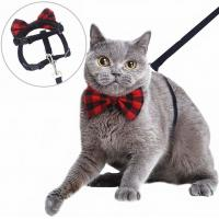 Buy cheap British Style Nylon Cat Collar With Removable Bowtie product