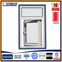 Buy cheap aluminium casement window opening outside product