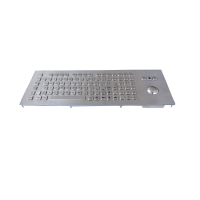 Buy cheap Metal Keyboard Panel Mount With Mechanical Trackball And Numeric Keypad from wholesalers