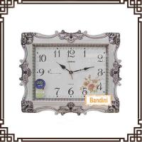 China HOT selling decorative wall clock for promotion Christmas gift fashion wall clock B8095WS on sale