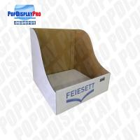 Buy cheap Table Top Paper PDQ Tray Display Simple Structure For Household Cleaning Brush product