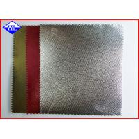 Buy cheap Shining Surface Laminated PP Non Woven Fabric with Metalized Gold & Aluminum Film product