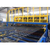 Buy cheap High Productivity Automatic Wire Mesh Machine , High Speed Reinforcing Mesh Machine product