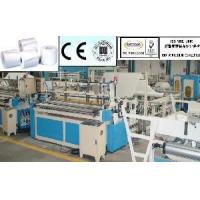 China Toilet Paper Embossing Rewinder on sale