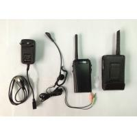 China Portable Digital VHF Full Duplex 2 Way Walkie Talkie Handheld For 4 Referees on sale
