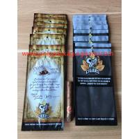 Buy cheap Fashion Zipper Moisturizing Fresh Cigarette Plastic Bag Transparent Window product