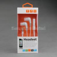 Buy cheap Colorful  Earphone For iPhone 5 With Volume Control And Mic product