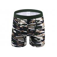 Buy cheap Sport Long Leg Boxer Shorts For Man , Cotton Men'S Underwear With Support Pouch product