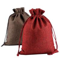Buy cheap Eco Friendly Recyclable Non Woven Drawstring Bag For Gift , Promotion product