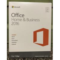 Genuine Office Home And Business 2016 Retail , Microsoft Office Retail Box For 1 PC