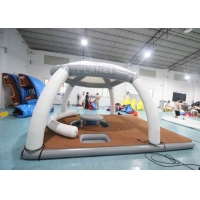 Buy cheap DWF 20cm Thickness Inflatable Floating Platforms Dock Inflatable Water Floating Island Inflatable Aqua Banas product
