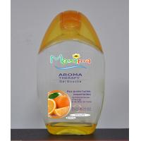 Buy cheap Eco-friendly natural essences oil orange Aroma Shower Gel 300ml for women from wholesalers